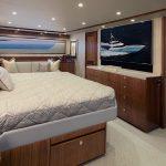 Viking 92 Enclosed Bridge Master Room