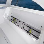 Viking 38 Billfish Rod Stowage