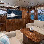 Viking 72 Enclosed Bridge Salon Couch