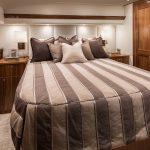 Viking Yachts 68 Enclosed Bridge Master Room