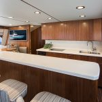 Viking 68 Enclosed Bridge Salon Reef