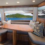 Viking 68 Enclosed Bridge Salon Couch