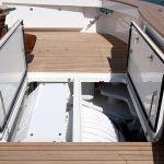 Viking 92 Enclosed Bridge Stowage
