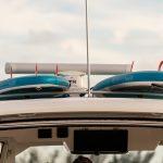 Boston Whaler 380 Realm Board Rack