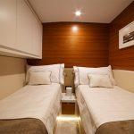 Bertram 61 Twin bed
