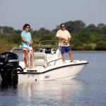 Boston Whaler 180 Dauntless Fishing