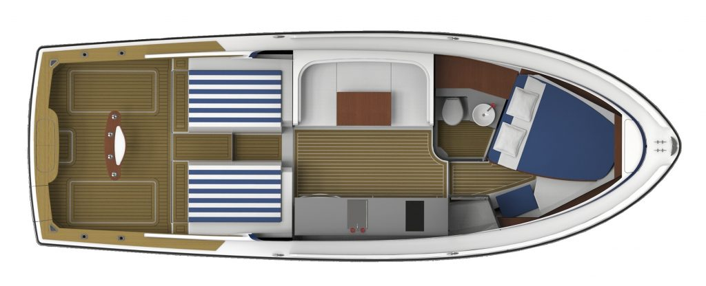 Bertram 35 Interior Specification