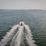 Boston Whaler 170 Dauntless Running