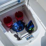 Boston Whaler 270 Dauntless Stowage