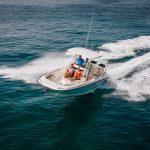 Boston Whaler 270 Dauntless Running