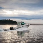 Boston Whaler 285 Conquest Pilothouse Running