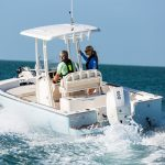 Boston Whaler 210 Montauk Running