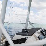 Boston Whaler 210 Montauk Wraparound Windshield