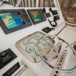 Cabo 47 Flybridge Helm