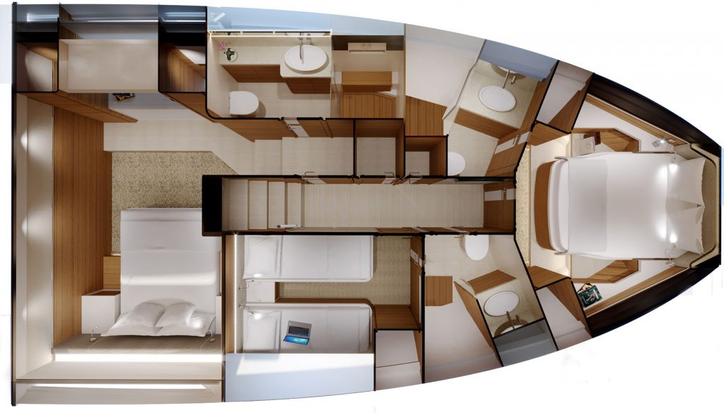 Bertram 61 Modern Specifications