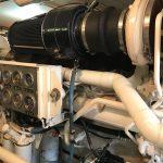 Bertram 54 Engine Room