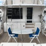 Bertram 54 Stern Seating