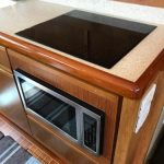 Bertram 54 Galley Microwave