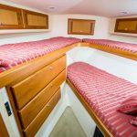 Cabo 43 Flybridge Bunk Room
