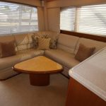 Cabo 48 Flybridge Couch