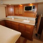 Cabo 48 Flybridge Galley