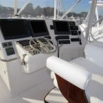 Cabo 48 Flybridge Helm