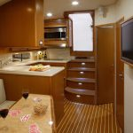Cabo 52 Express galley