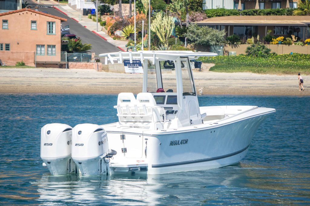 In Stock – Regulator 25 Center Console