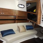 Boston Whaler 345 Conquest Pilothouse Couch