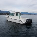 Boston Whaler 345 Conquest Pilothouse Running