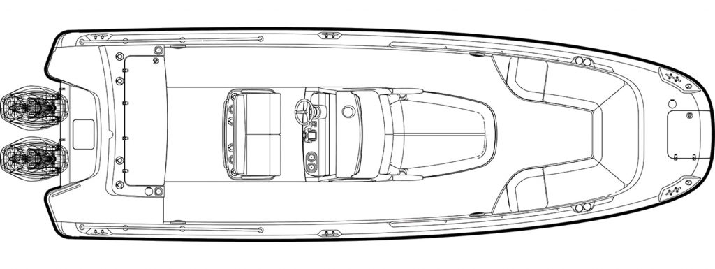Boston Whaler 270 Dauntless Specifications