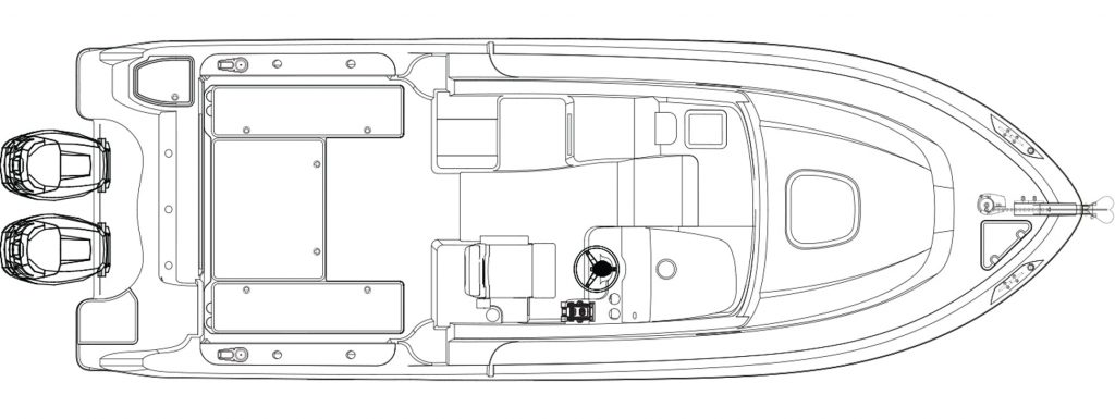Boston Whaler 285 Conquest Pilothouse Specifications
