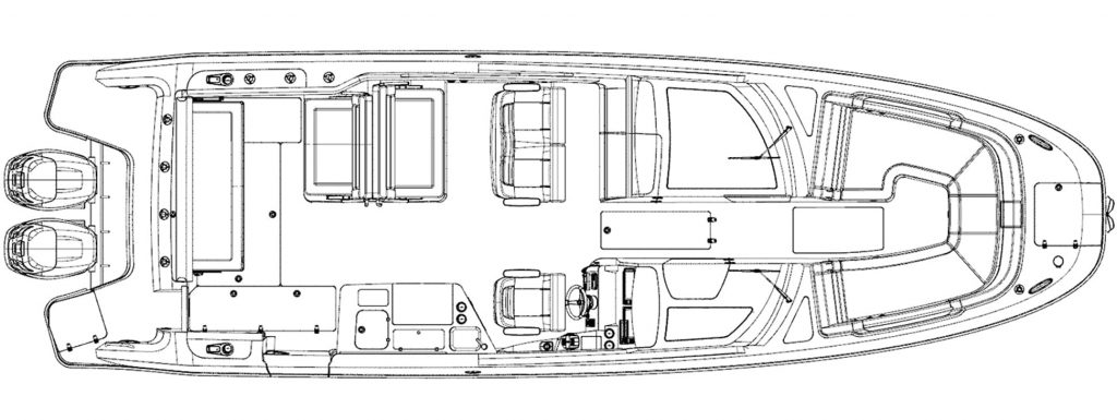 Boston Whaler 320 Vantage Specifications