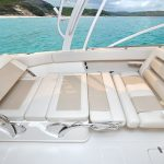 Boston Whaler 320 Vantage Seat bed