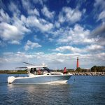Boston Whaler 325 Conquest Running