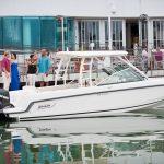 Boston Whaler 270 Vantage Docked