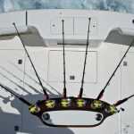 Cabo 38 Flybridge Rod Holders