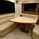 Cabo 38 Flybridge Lounge