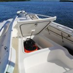 Boston Whaler 240 Dauntless Pro Deck Locker