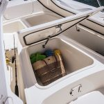Boston Whaler 240 Dauntless Stowage