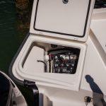 Boston Whaler 240 Dauntless Deck Locker