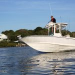 Boston Whaler 240 Dauntless Pro Running