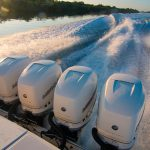 Boston Whaler 380 Outrage Engines Running