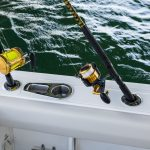 Boston Whaler 230 Outrage Rod Holders