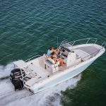 Boston Whaler 210 Dauntless Runnning