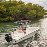 Boston Whaler 240 Dauntless Running