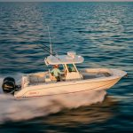 Boston Whaler 280 Outrage Running
