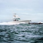 Boston Whaler 380 Outrage Running