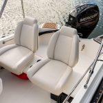 Boston Whaler 130 Super Sport Helm Seating