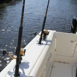 Boston Whaler 280 Outrage Rod Holders